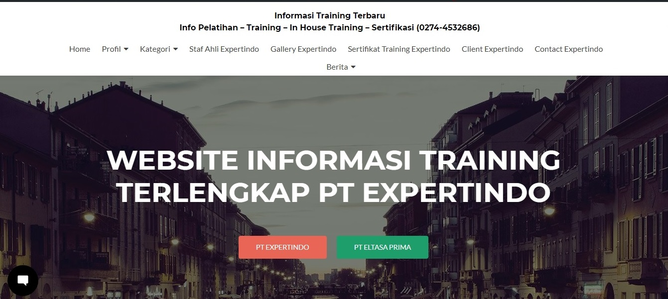 Informasi Training Terbaru [dot] com