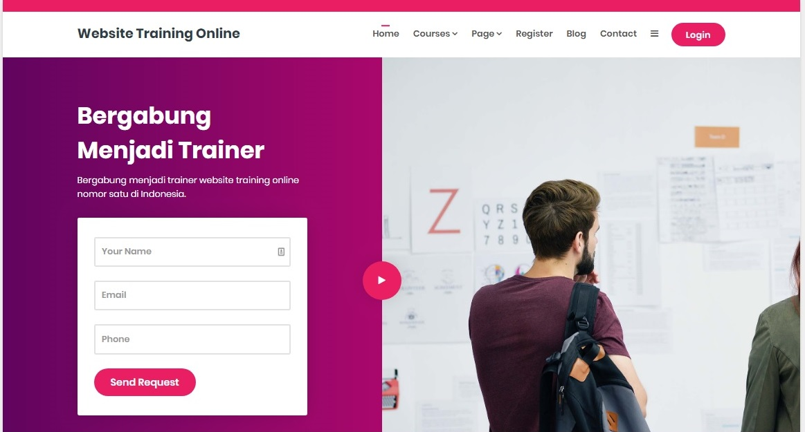 Website Training Online