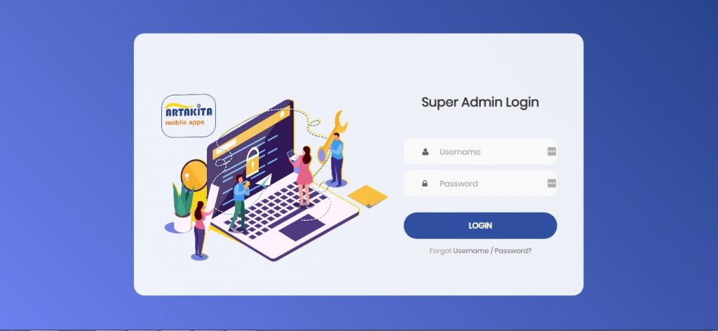 Sistem Dashboard Online Android Artakita