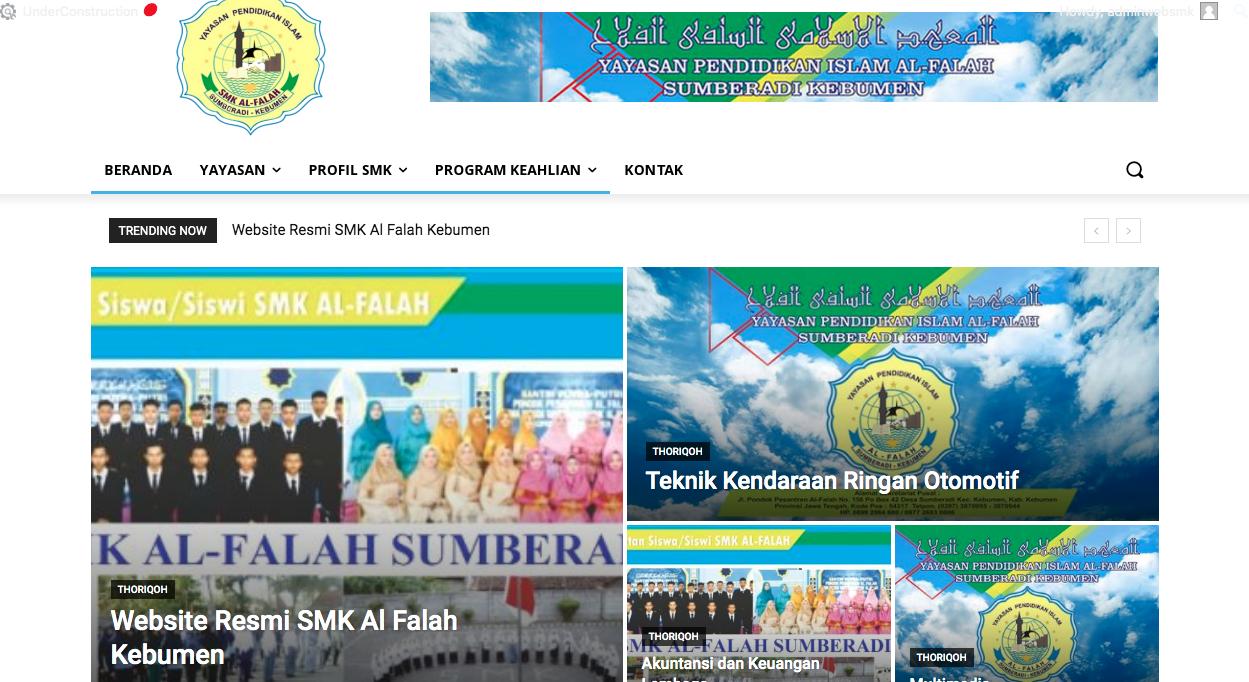 SMK Al Falah Sumbeadi Kebumenl SMK Al Falah